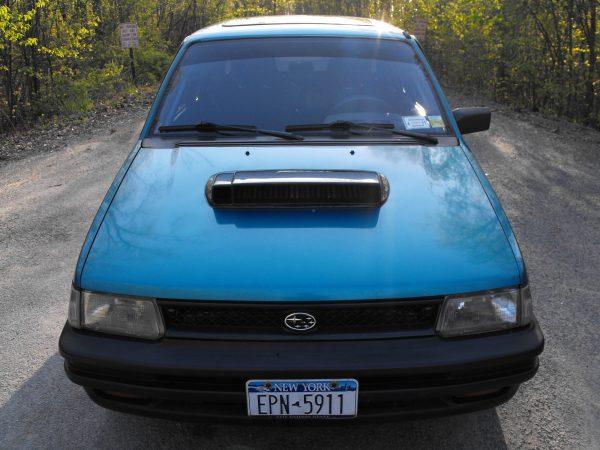 1993 Subaru Justy with a turbo EJ20 flat-four