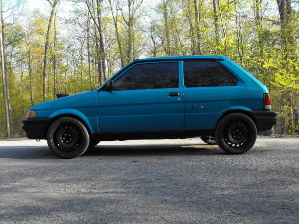 1993 Subaru Justy with a turbo EJ20 flat-four
