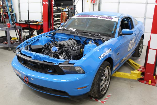 2010 Mustang with a 5.0 L Coyote V8