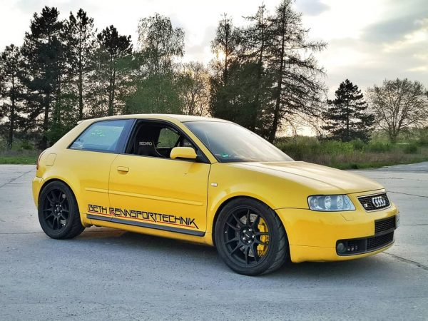 Audi S3 with a Turbo 3.2 L VR6
