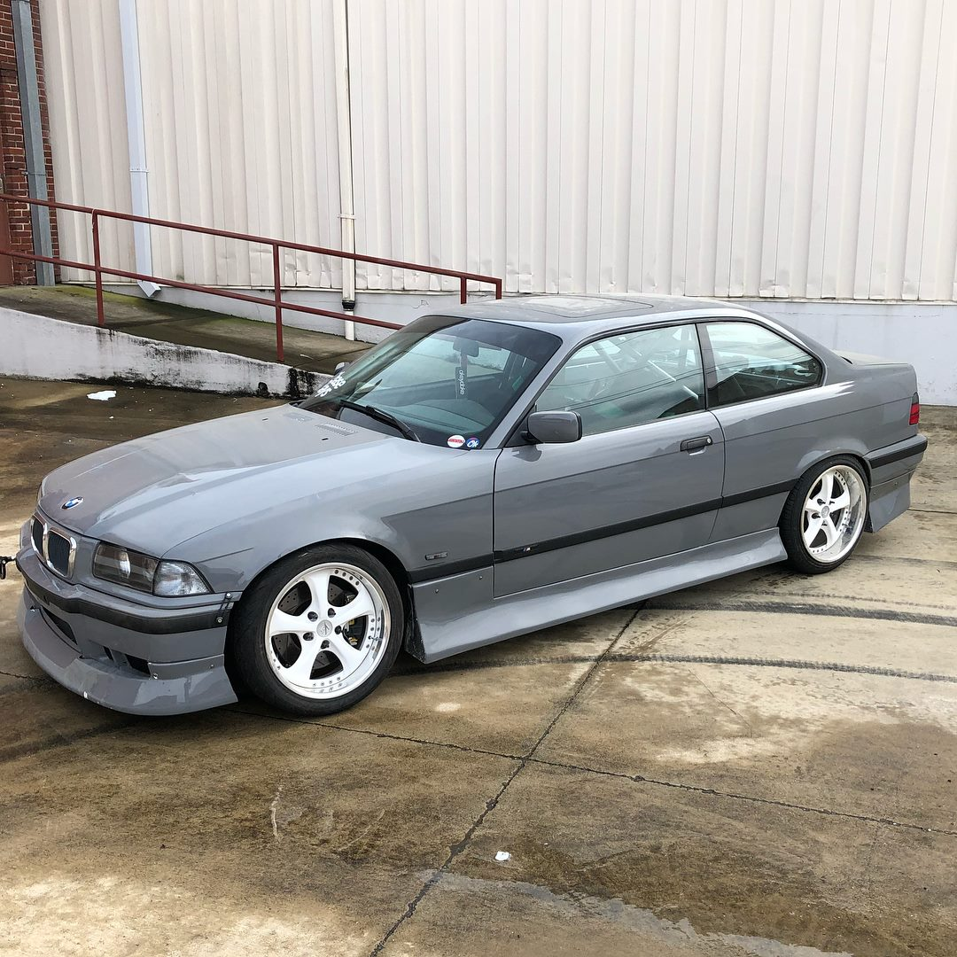 BMW E36 with a turbo 1JZ inline-six