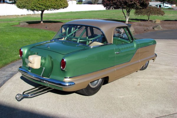Custom Pro-Street Nash Metropolitan with a 540 ci Chevy V8
