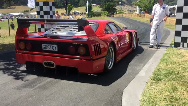 Ferrari F40 Replica with a twin-turbo 1UZ V8