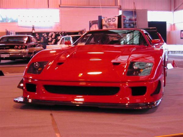 Ferrari F40 Replica with a twin-turbo 1UZ V8