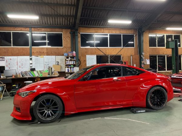 Infiniti Q60 with a Twin-Turbo VR38DETT V6
