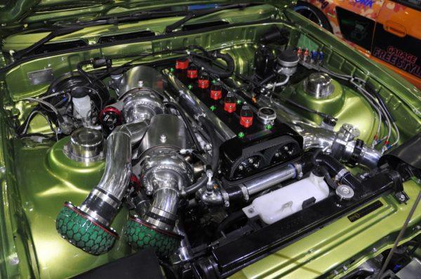 Toyota Supra A70 with a Twin-Turbo 2JZ-GTE inline-six