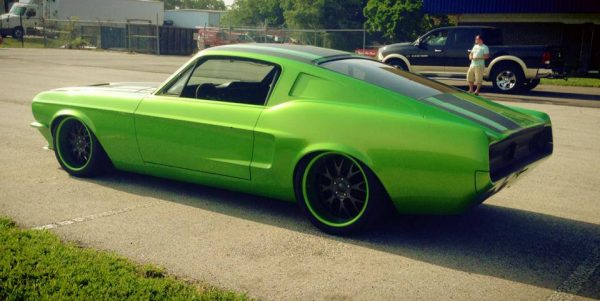 1967 Mustang with a Supercharged Coyote V8