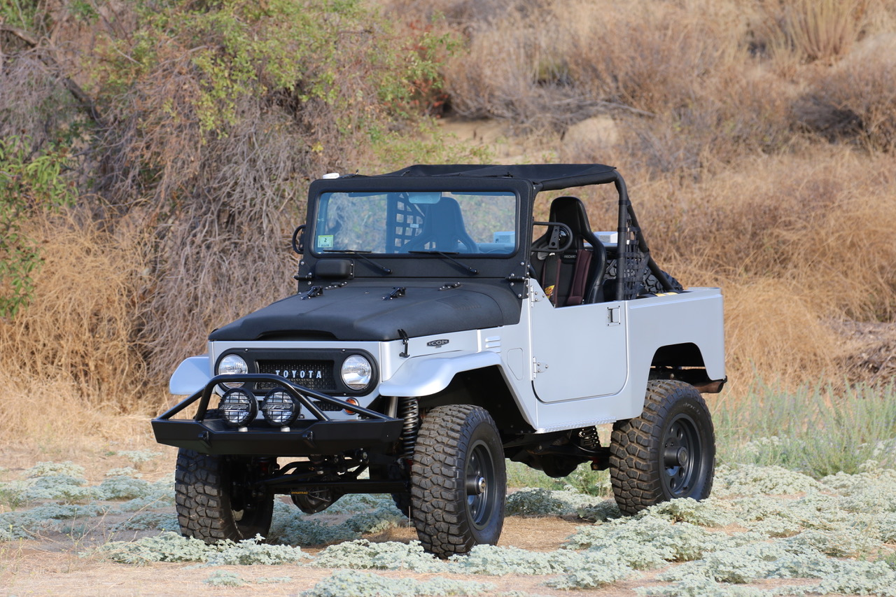 1973 Toyota FJ40 with a LS6 V8