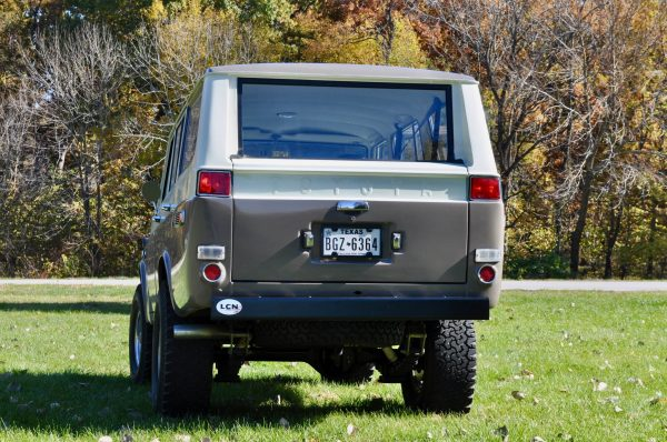 1974 Toyota Land Cruiser with a 350 ci Chevy V8