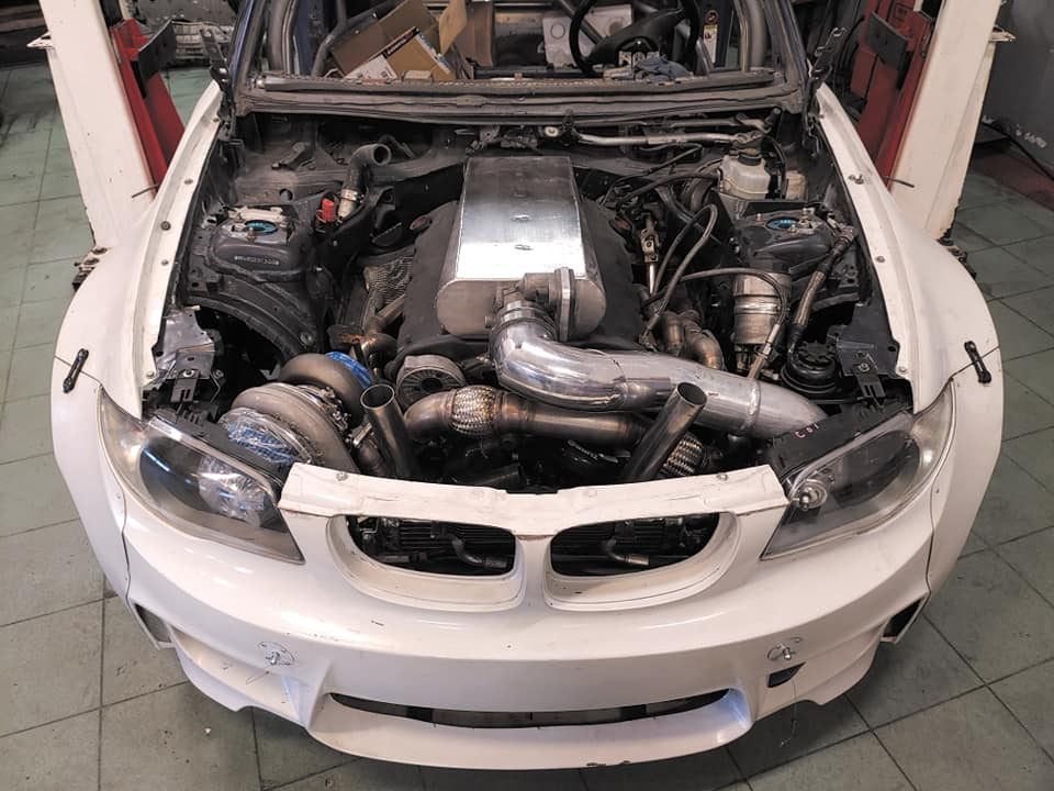 Bmw 1 With A Turbo V12 Engine Swap Depot