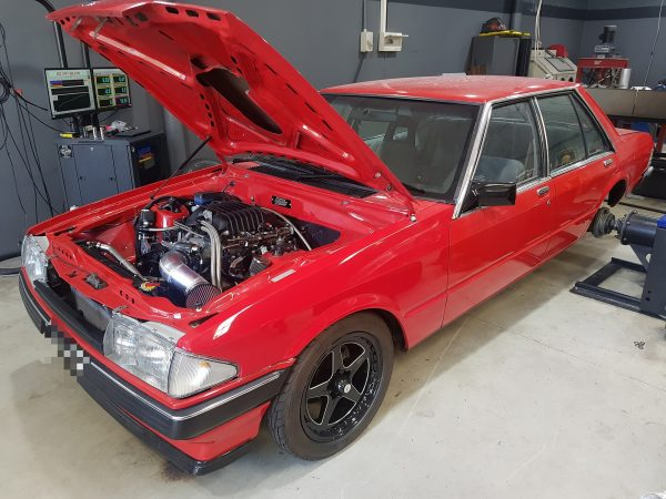 Ford Falcon XE with a Supercharged LSx V8