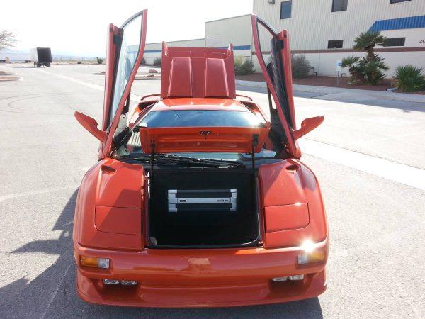 Lamborghini Diablo with a LS3 V8