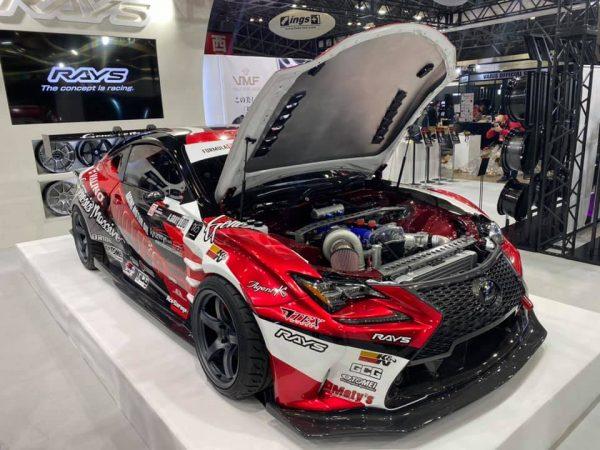 Lexus RC with a turbo 3.6 L 2JZ-GTE inline-six