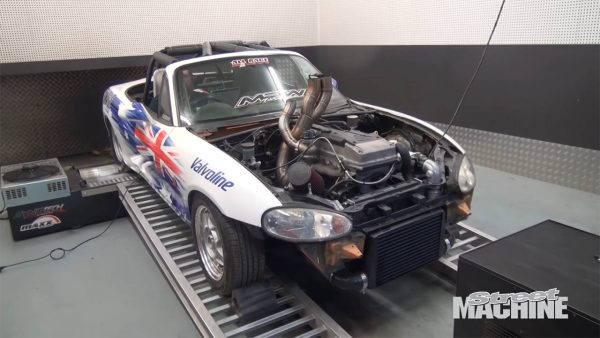 Mazda MX-5 with a Turbo Barra Inline-Six