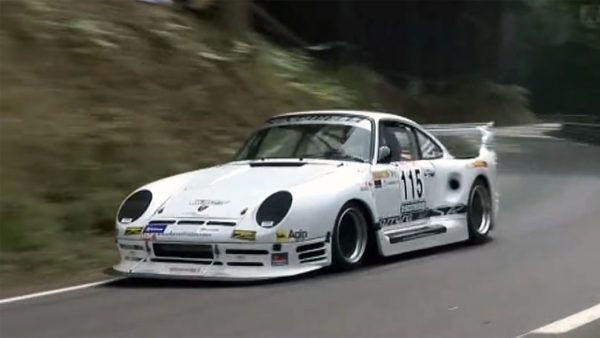 Santarelli Porsche 911 Race Car with a Turbo 2.8 L Flat-Six
