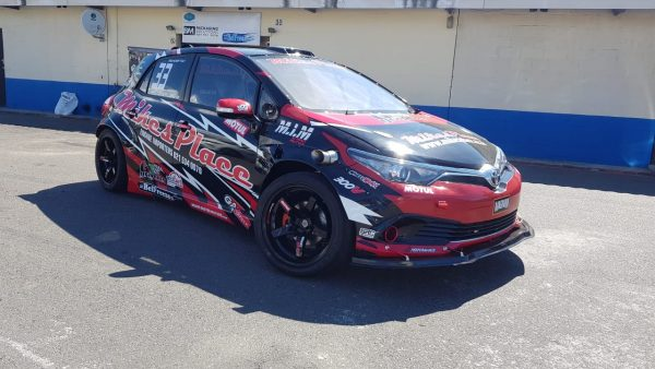 Toyota Auris with a Supercharged Coyote V8