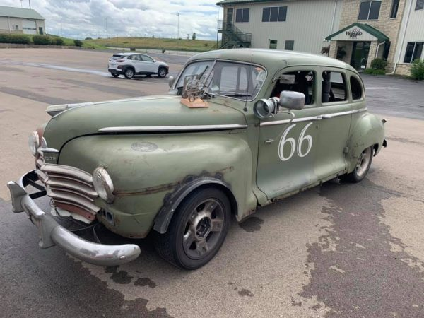 1947 Plymouth with a Supercharged 3800 V6