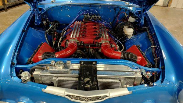1956 DeSoto Firedome with a Viper V10