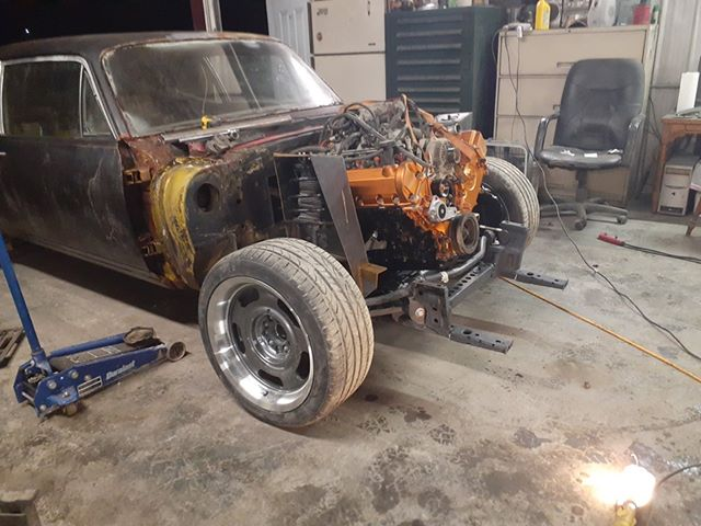 1972 Chevy Nova with a Supercharged Ford V10 – Engine Swap DepotEngine Swap Depot