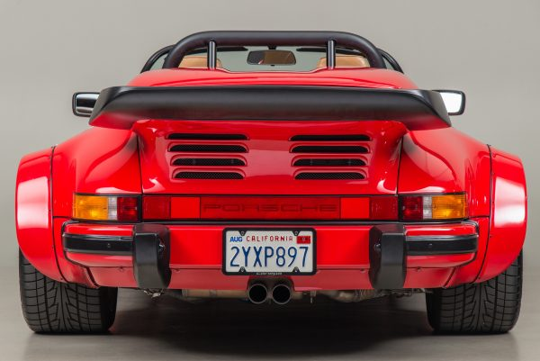 1989 Porsche 911 with a twin-turbo 962 flat-six
