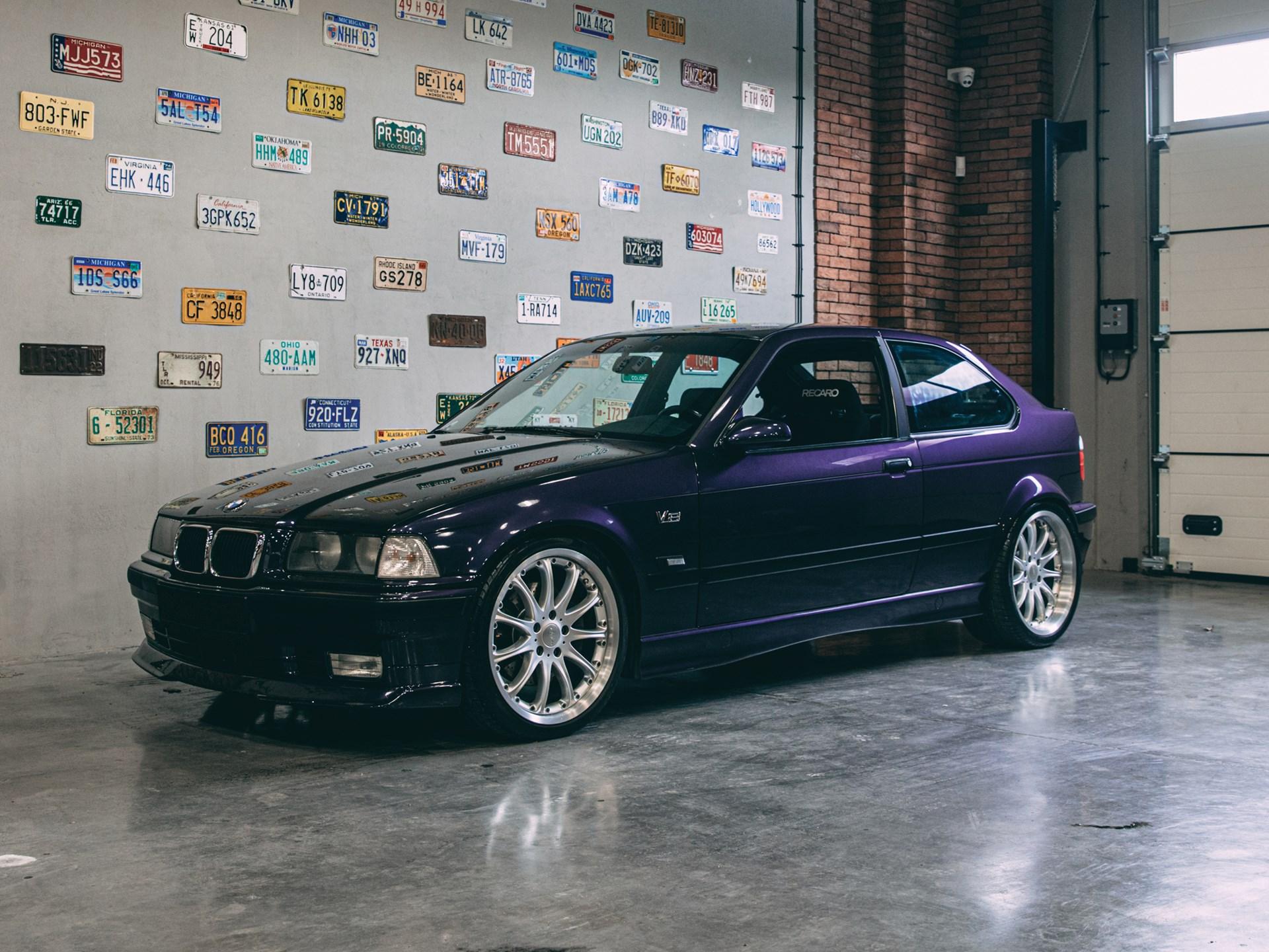 BMW E36 with a 4.7 L M62 V8