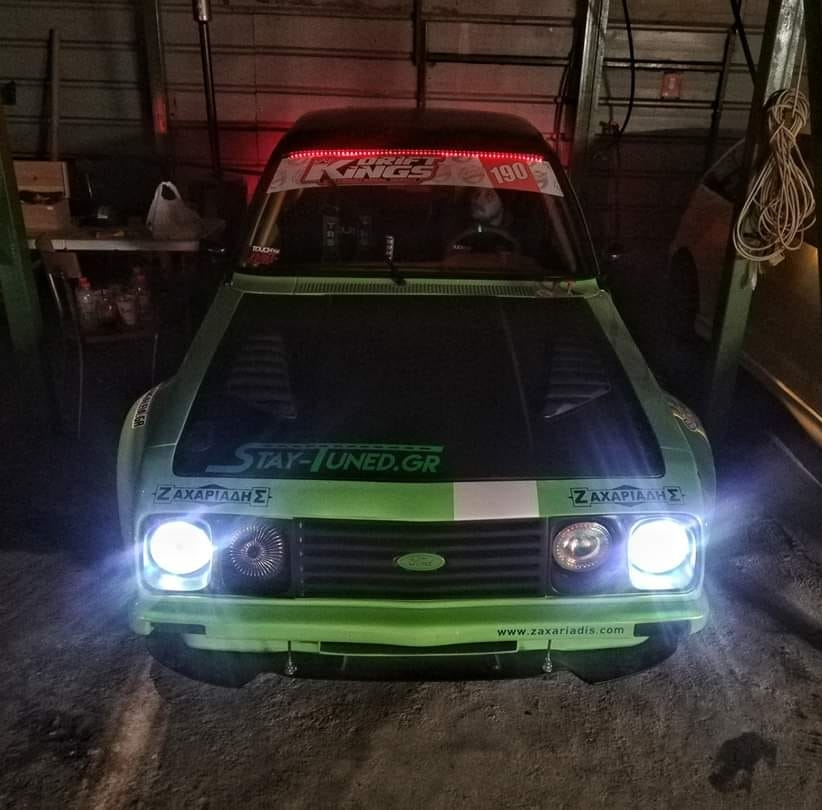Ford Escort with a Turbo Cosworth Inline-Four