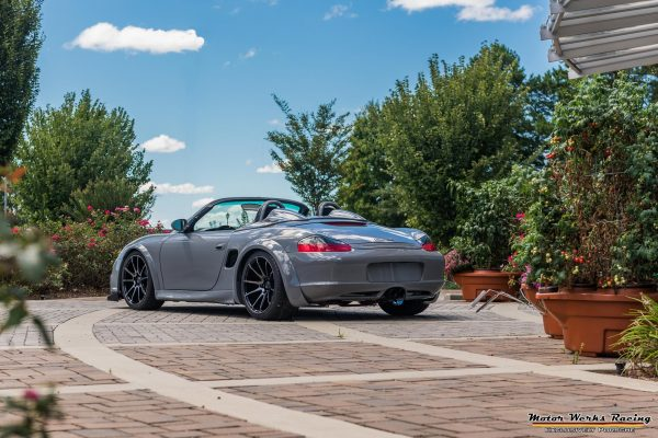 Porsche Boxster with a Turbo Audi Inline-Four