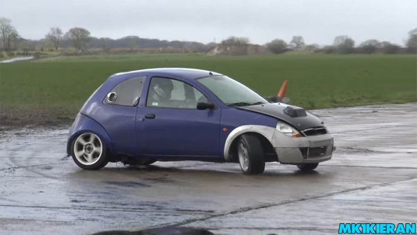 RWD Ford Ka with a ST170 2.0 L Inline-Four