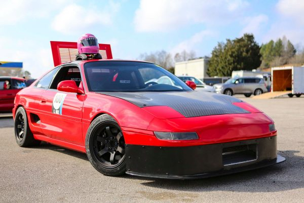 Toyota MR2 with a Honda K20-K24 inline-four
