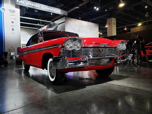 1958 Plymouth Fury with a Supercharged Hellephant V8