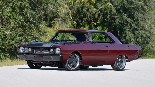 1968 Dodge Dart GTS with a Supercharged Hellcat V8