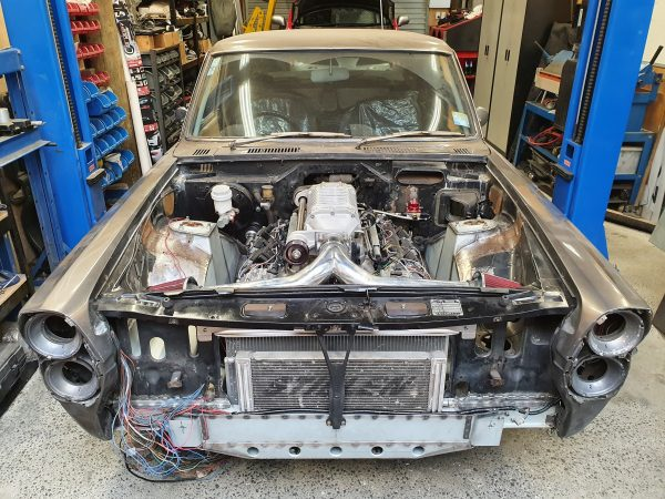 1969 Nissan Gloria with a Supercharged VK56 V8