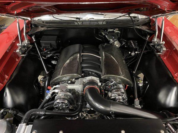 1969 Pontiac GTO with a LS7 V8