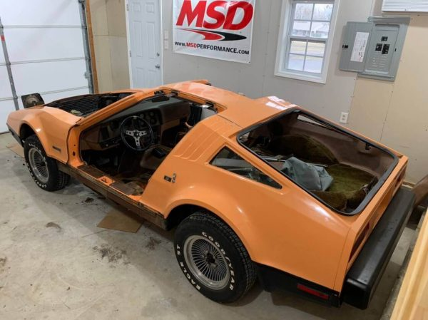 1975 Bricklin SV-1 with a LSx V8