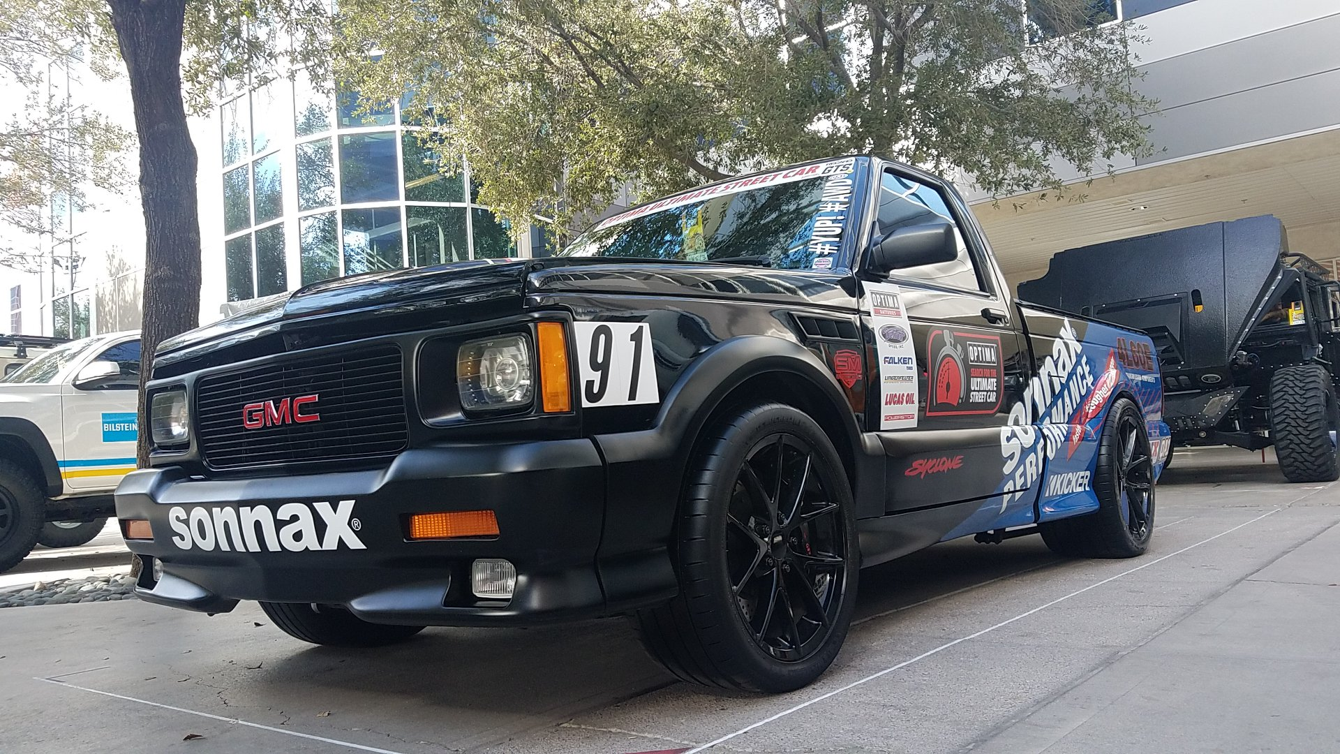 1991 GMC Syclone with a Supercharged LSX V8