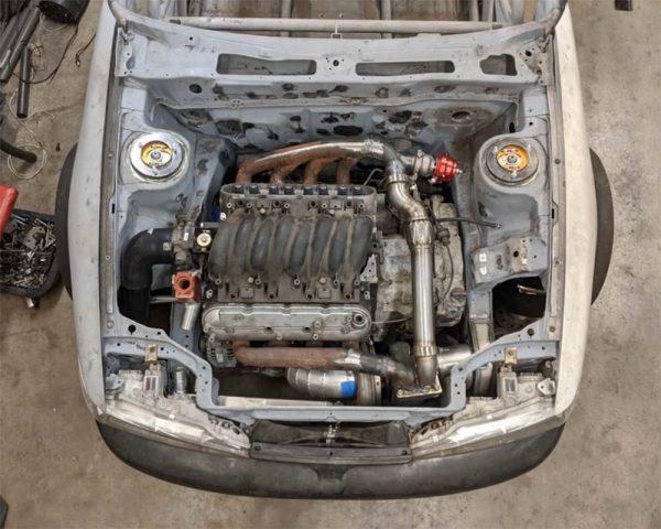 1992 Eagle Talon with a Turbo LS4 V8