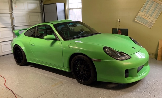 1999 Porsche 996 with a Supercharged Pontiac V6