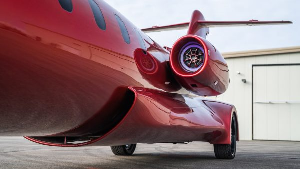 Custom Learjet Limo with a 8.1 L Chevy V8