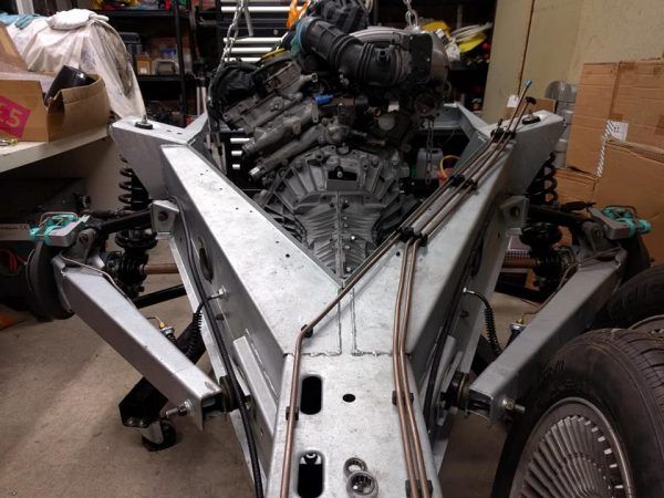 DeLorean with a Renault L7X V6