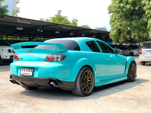 Mazda RX-8 with a turbo 1JZ inline-six
