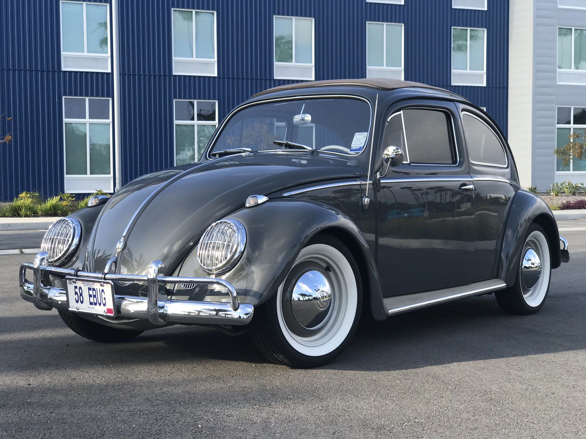 1958 Beetle with an Electric Motor
