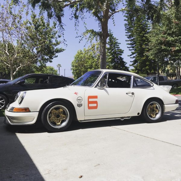 1967 Porsche 912 with a Subaru turbo EJ207 flat-four