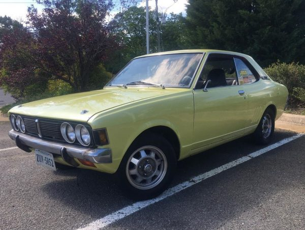 1971 Dodge Colt with a carbureted 13B rotary