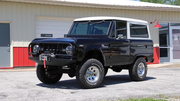 1972 Bronco with a Coyote V8