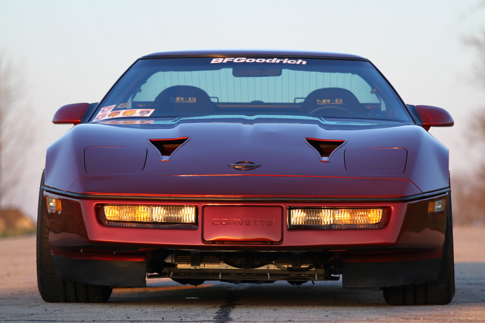 1987 Corvette with a Supercharged LS9 V8