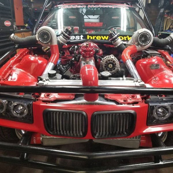 1993 BMW 325i with a twin-turbo 5.3 L LSx V8
