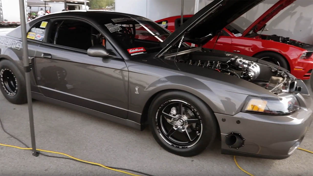 2003 SVT Cobra with a Turbocharged Coyote V8