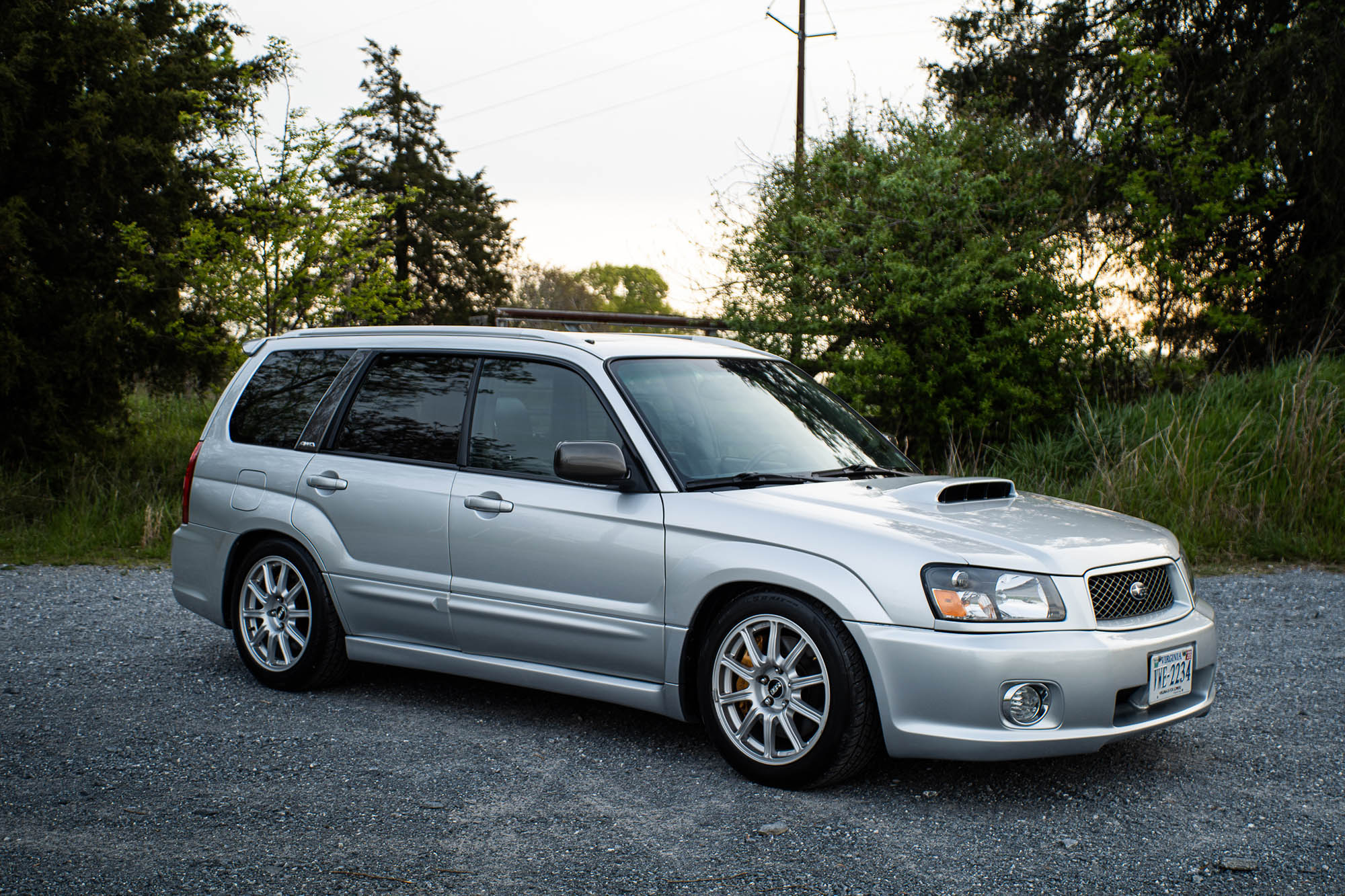 2004 Subaru Forester with a turbo EJ257 flat-four