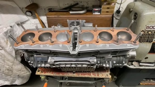 Allen Millyard Kawasaki Z1 Super Six custom inline-six