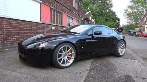 Aston Martin V8 Vantage with a Supercharged LT4 V8